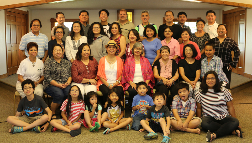 The MEANS Family during the 2017 Retreat at Cedar Valley Retreat Center